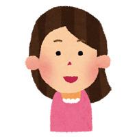 表情を作る練習